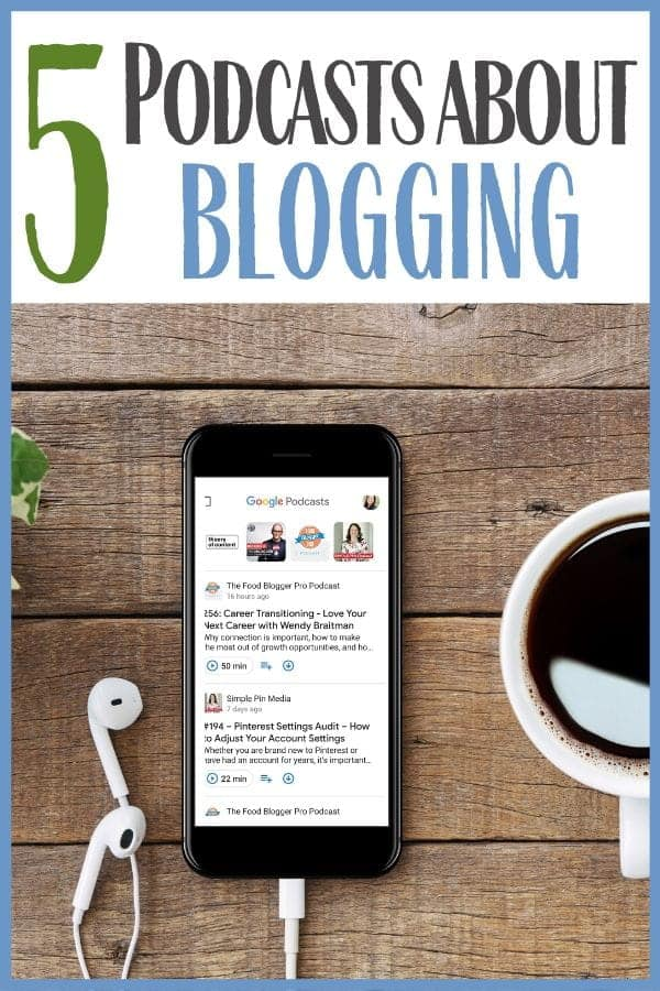 BEST Podcasts about Blogging