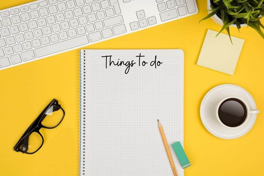 List of Things to Do