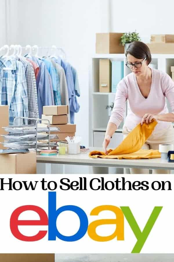 How to Sell Clothes on eBay