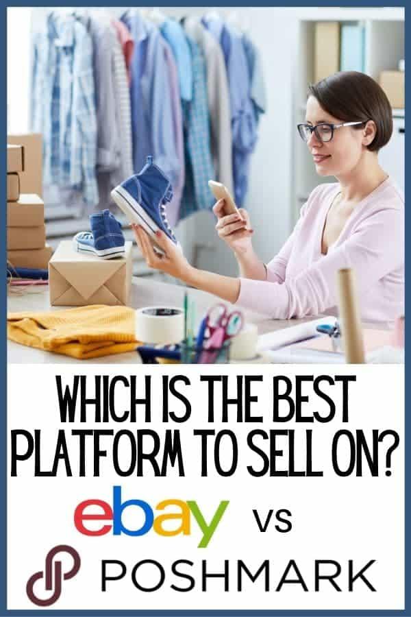Poshmark vs Ebay: Which is better selling platform